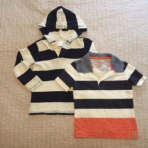 Boys Casual Striped Shirts Bundle
